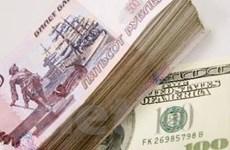 Dự trữ ngoại tệ của Nga đang giảm nhanh