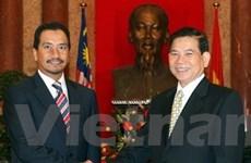 Thúc đẩy hợp tác toàn diện Việt Nam-Malaysia