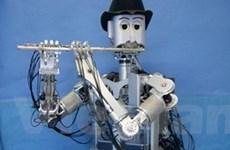 Nhật Bản thiết kế robot có thể biểu diễn sáo