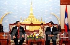 Tăng cường quan hệ hợp tác Việt Nam-Lào