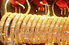 Giá vàng trên thị trường thế giới tăng mạnh
