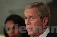 Tổng thống Bush thừa nhận kinh tế Mỹ suy thoái