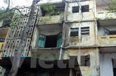 Hà Nội: Xây mới nhà chung cư C7 Giảng Võ