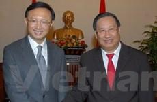 Quan hệ Việt - Trung tiếp tục phát triển