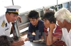 Đà Nẵng: 11 thuyền viên bị nạn trở về an toàn