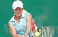 Thùy Dung thắng tại giải quần vợt ITF Surprise