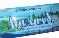 Thêm 2 sản phẩm nước uống bị nhiễm vi sinh
