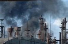 Cháy nổ nhà máy hóa chất ở Armenia