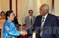 Bộ trưởng Tài chính và Kinh tế Sudan thăm VN