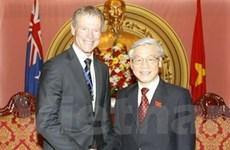 Chủ tịch Quốc hội New Zealand thăm Việt Nam