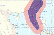 Bão Nangka vào biển Đông và tiếp tục mạnh lên