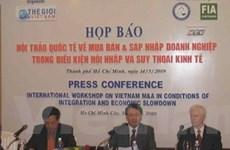 Hội thảo mua bán-sáp nhập doanh nghiệp VN