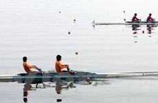 Thanh Hóa vươn lên dẫn đầu giải Rowing