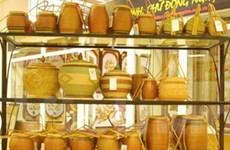Trưng bày sản phẩm làng nghề tại Melinh Plaza