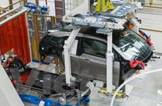 BMW bắt đầu sản xuất mẫu xe điện i3 tại Leipzig