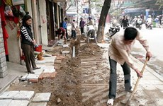 Hà Nội ngừng cấp phép đào đường trong dịp Tết