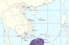 Áp thấp nhiệt đới đổi hướng đi về phía Tây Nam