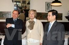 Hoạt động của Chủ tịch nước tại thành phố Milan
