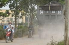 Đường Nguyễn Trãi ô nhiễm bụi nhất Hà Nội