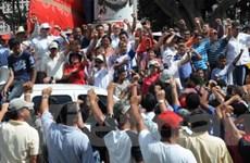 """Tổng thống Zelaya lập trụ sở """"chính phủ thay thế"""""""