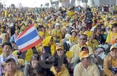 """Phe """"áo vàng"""" Thái Lan lại tổ chức biểu tình"""
