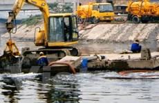 Hà Nội thí điểm xử lý nước thải sông Tô Lịch