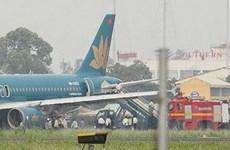 Máy bay Vietnam Airlines phải hạ cánh khẩn cấp