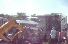 Xe lửa đâm nát cabin ôtô, 1 người thiệt mạng