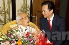 Thủ tướng chúc thọ Đại tướng Võ Nguyên Giáp