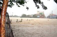 Miền Trung chìm trong mưa lớn và ngập lụt