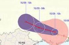 Bão số 8 sẽ suy yếu thành áp thấp nhiệt đới