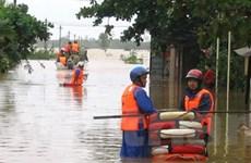 Một sĩ quan hy sinh khi cứu dân trong bão lũ