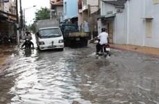 Thị xã Bạc Liêu tái diễn cảnh ngập trong nước
