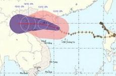 Gió cấp 7 tại vùng biển từ Quảng Trị đến Đà Nẵng