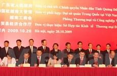 Doanh nghiệp VN-Quảng Đông ký 24 dự án hợp tác