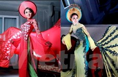 Hoa hậu Quý bà 2009: Tôn vinh áo dài Việt Nam