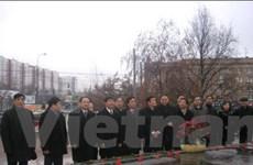 Đoàn Việt Nam dự Đại hội Đảng Nước Nga Thống nhất