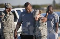 Bốn sĩ quan Mỹ thiệt mạng trong một vụ xả súng