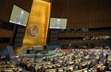 Đại hội đồng Liên hợp quốc thông qua 54 nghị quyết