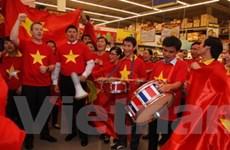 3.000 nhân viên mặc áo đỏ cổ vũ U23 Việt Nam