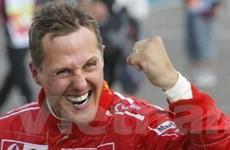 Schumacher trở lại đường đua F1 với Mercedes