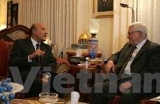 Tổng thống Palestine tới Ai Cập bàn về hòa đàm