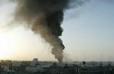 Israel lại tiến hành một loạt không kích Dải Gaza