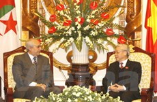 Đẩy mạnh hợp tác hai Quốc hội Việt Nam-Algeria
