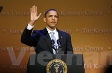 Tỷ lệ ủng hộ Tổng thống Barack Obama giảm mạnh