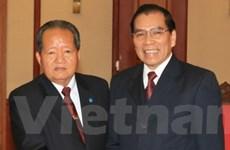 Việt-Lào nhất trí thắt chặt quan hệ giữa hai nước