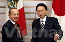 Nhật Bản và Mexico nhất trí hợp tác tại COP16