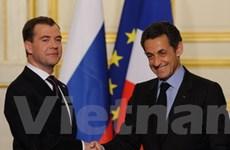 Nga-Pháp khẳng định quan hệ đối tác chiến lược