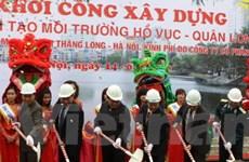 Hà Nội: 20 tỷ đồng cải tạo môi trường hồ Vục