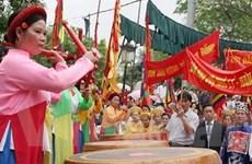 Tỉnh Bắc Ninh khai mạc lễ hội Đền Đô năm 2010